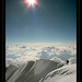 Alone at the top, Summit of Denali, Alaska