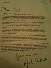 #debill letter from Andrew Mitchell MP