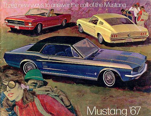 Ford Mustang range 1967