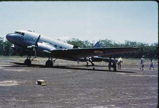 RAAF C47 Dakota at Snake Bay 1961