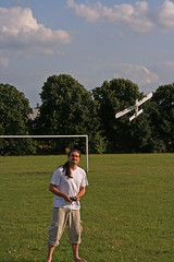 Paper Paper Airplane 1 Photos | Man flying radio controlled paper airplane 3 | 9