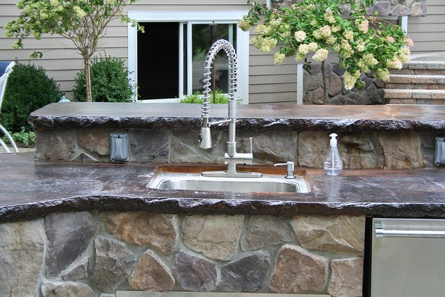 Outdoor kitchen Concrete Countertop by OHI Concrete Design - www ...