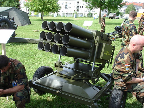 "Višecjevni bacač raketa 128 mm ""Rak-12"" M-91"
