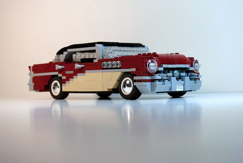 Fascinating lego model of the day buick 1955 century for 1955 buick century 4 door hardtop