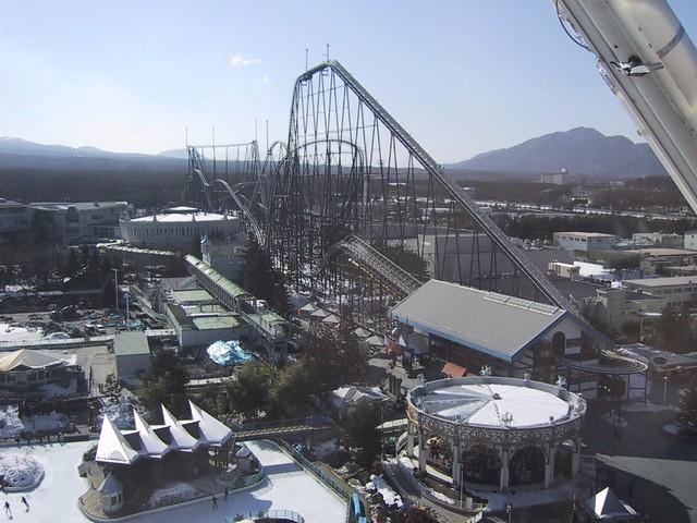 Fujiyama Track - Fuji-Q Highland