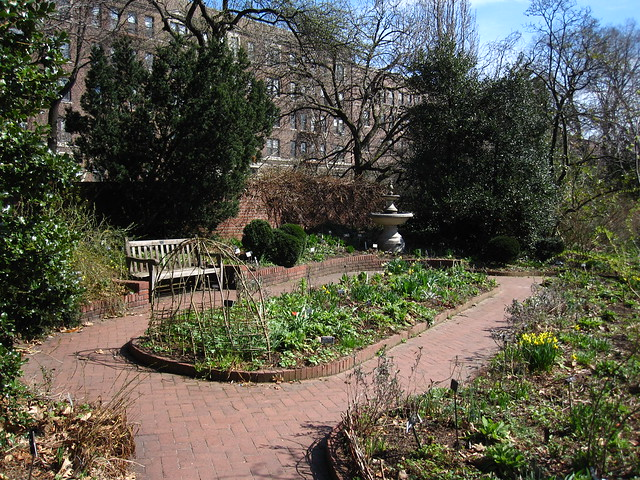 The Shakespeare Garden. Photo by Rebecca Bullene.