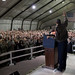President Obama surprises troops in Afghanistan