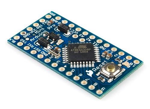 Arduino pro mini v mhz sku dev