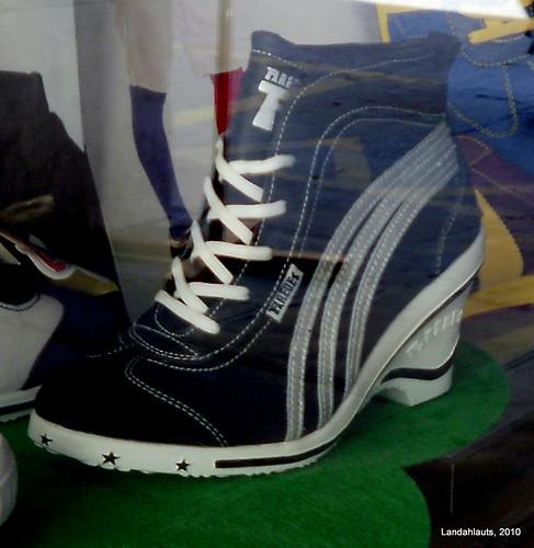 Zapatillas de deporte con tacón