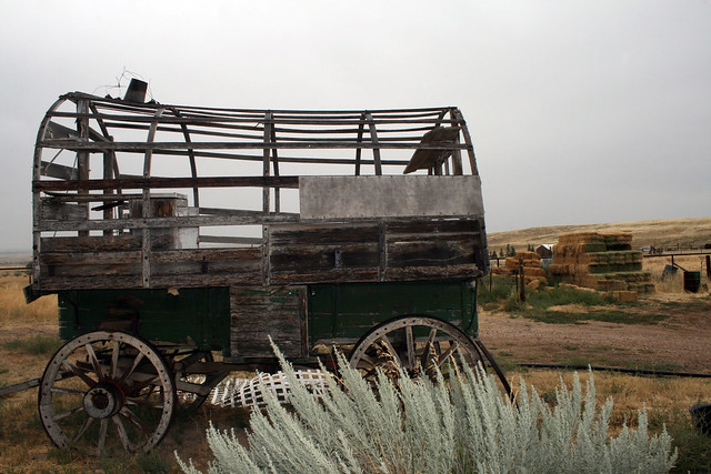 Rails/Railroad: Old railway baggage cart, baggage cart, railroadforums