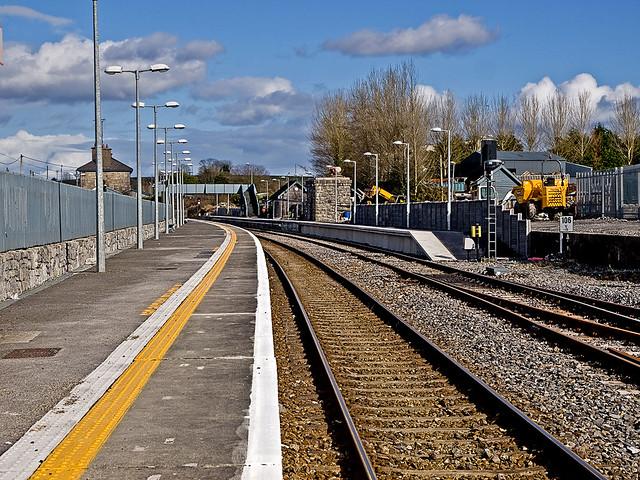 Boyle Rail Station Platforms