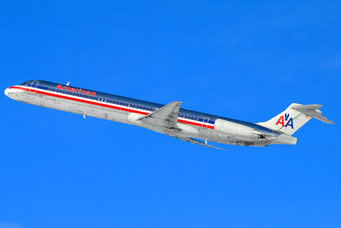 American Airlines McDonnell Douglas MD-82 (DC-9-82) (N458AA)