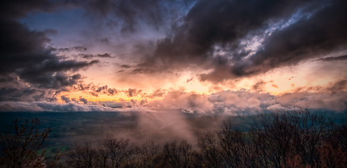 sunset sky sun rock set clouds nc high jump nikon skies dynamic north sigma off hendersonville carolina range 1020 hdr hdri wnc d300 photomatix