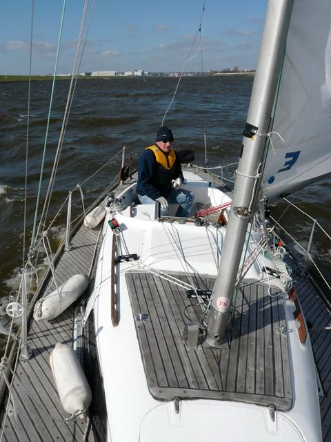 10 April: Sailing season started
