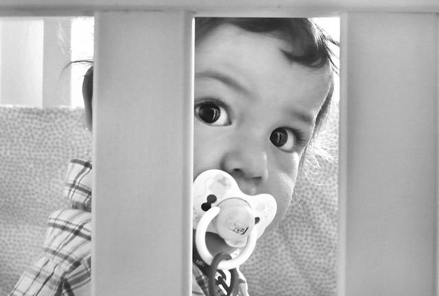 La mirada de mi niño