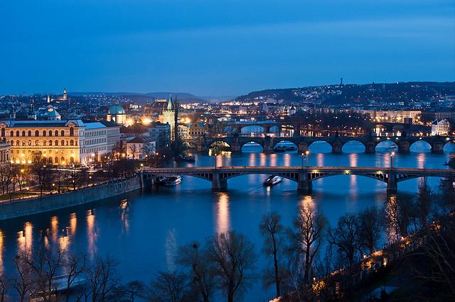 Bridges Over The Vltava by Philipp Klinger Photography