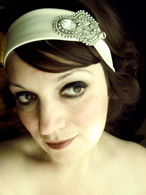 Vintage Inspired Bridal Headband Vintage inspired bridal head band