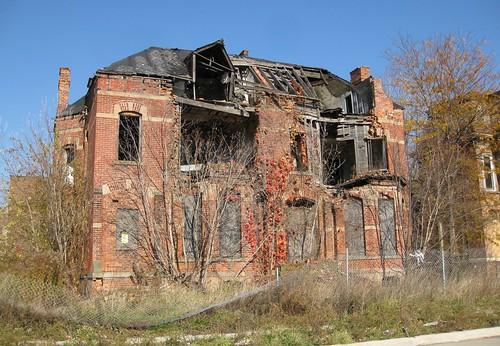 Ancient Ruin in Autumn