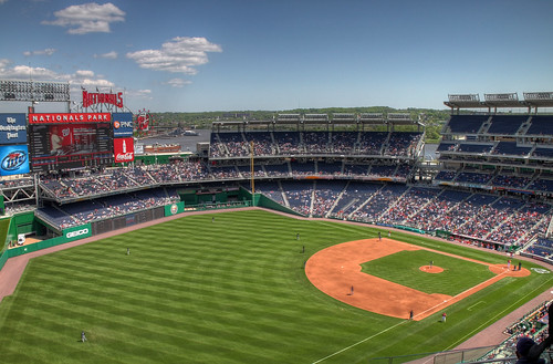 Nationals Park in HDR