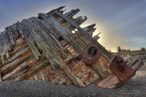 Pesuta – sometimes only way to a part of history is to become a spectacular wreck