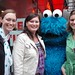 Me, Jocelyn, Cookie Monster, Nicole by ninnya