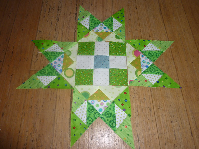 Sewn Together Bee April Block #2