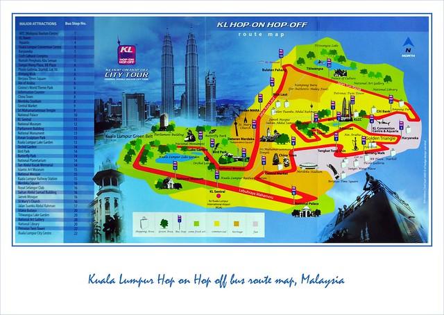 kl hop on hop off bus route map pdf