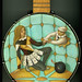 banjo uke blond (Slingerland, 1920s, birdseye maple veneer), Crehore
