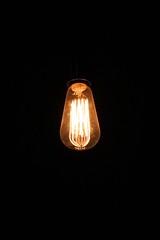 lamp, incandescent light bulb, light fixture, yellow, light, darkness, lighting,