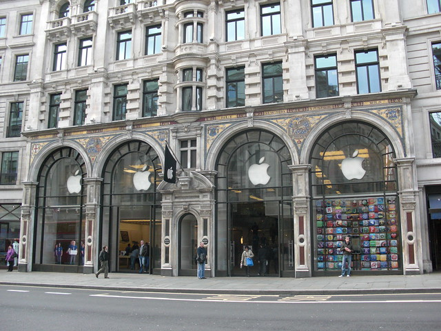 London Apple Store