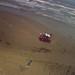 Surfside Beach Kite Aerial Photograph by J-a-x