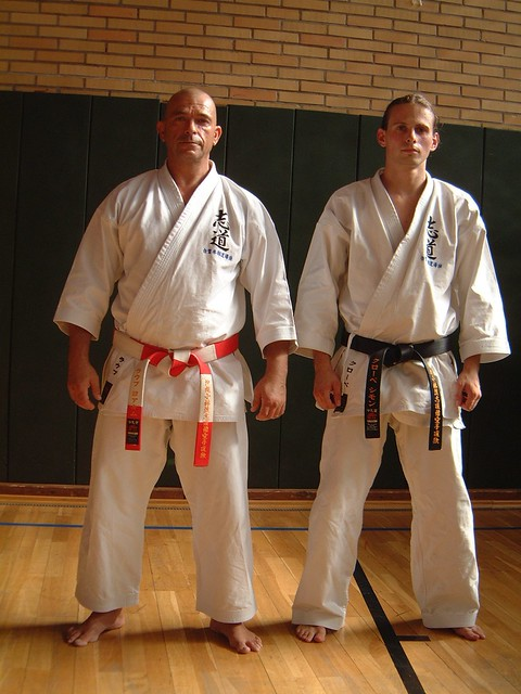 Joachim Laupp Sensei und Simon