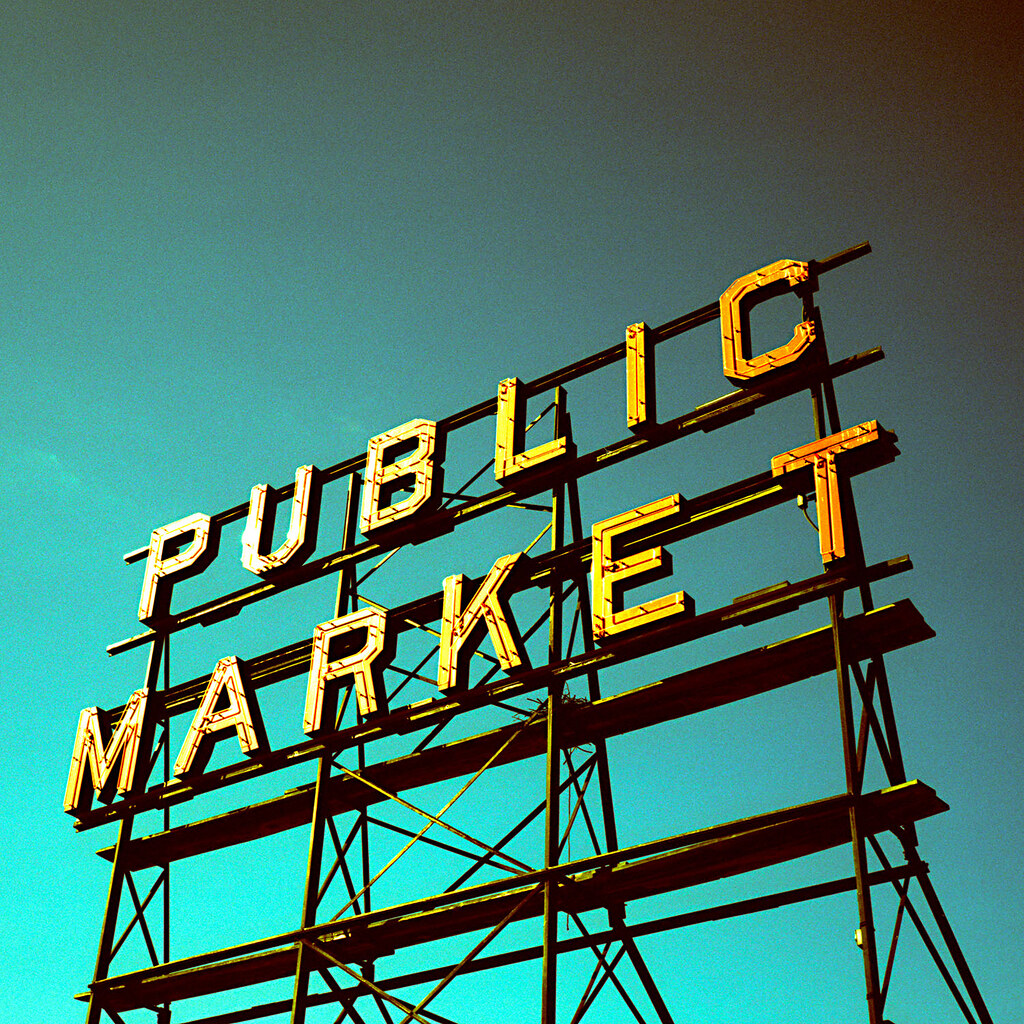 public market. seattle, wa. 2009.