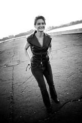 model, white, photograph, monochrome photography, woman, fashion, female, standing, monochrome, black-and-white, beauty, black,