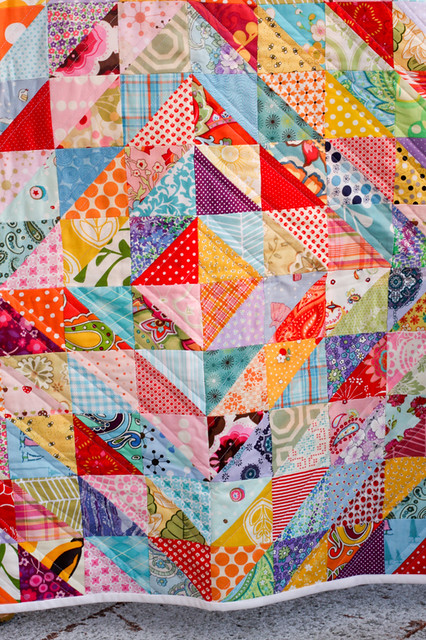 Half Square Triangle Quilts A Gallery On Flickr