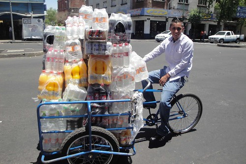 Tricycle soda cargo