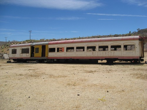 california railroad abandoned train desert yuccavalley