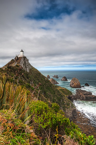 sea newzealand landscape nikon hdr nuggetpoint d90 photomatix nikond90 concordians