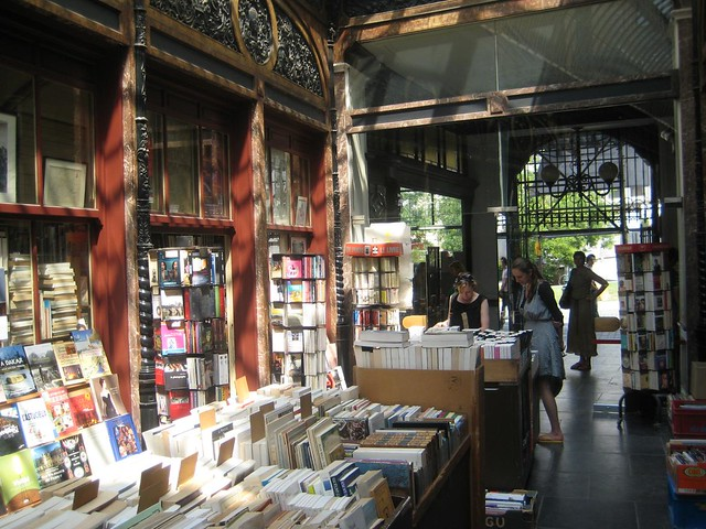 Great skylit bookshop space