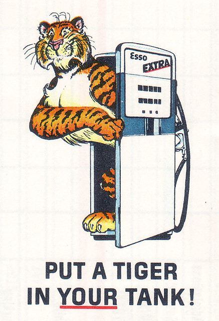 The Esso Tiger | In 1964, the Esso tiger was introduced ...