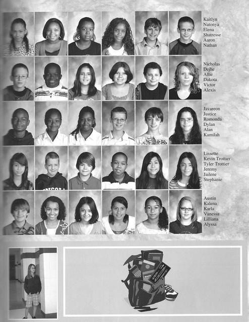 Lincoln Middle School Yearbook 2010 Kevin And Tyler 6th