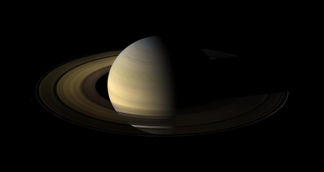 Photo:Saturn Portrait (PIA11667) By:Lights In The Dark