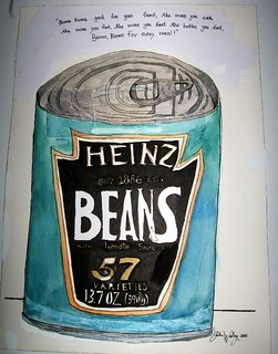 "'' BEANS "" by John Woolley / 11 years old"