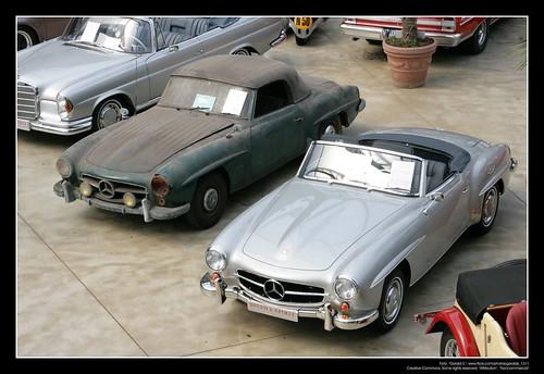 rdza na samochodzie |Mercedes W 121 1955 (190 SL) (22)|4708098492 53fd796522