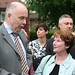 Jack dromey Mp and Hazel Blears MP