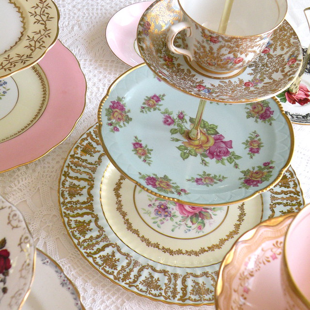Tier Afternoon Tea Cake Stand Hire Nottinghamshire