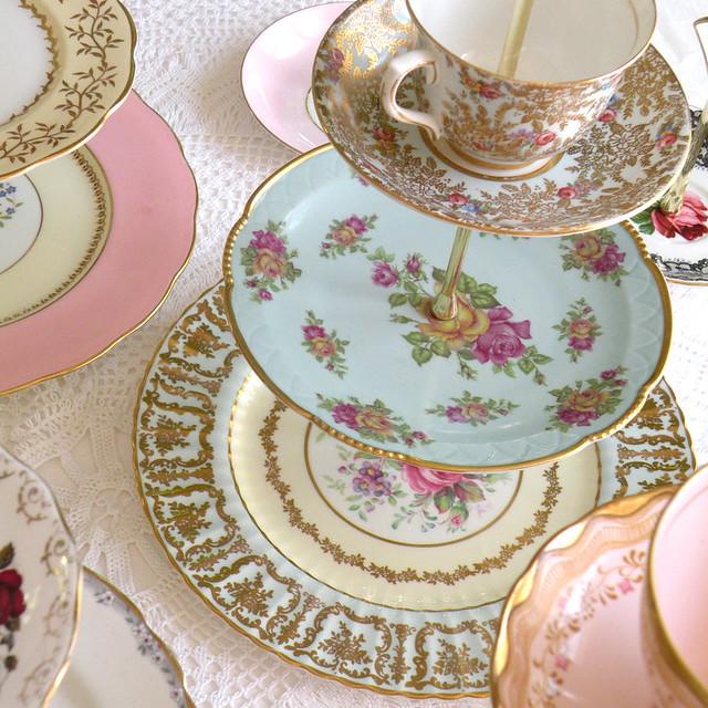 Blue China Tea Rooms Menu Criccieth
