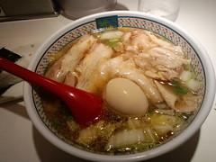 神座:小チャーシュー煮卵ラーメン