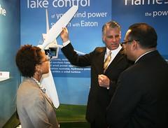 Ambassador Roemer promotes renewable energy