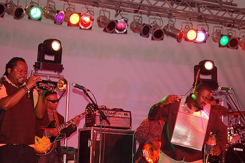 Buckwheat's band